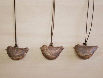 トリ笛ペンダントの画像