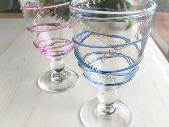 月の水・和飲グラス ペアグラス プレゼント ギフトにの画像