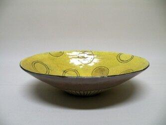 Colors きいろい楕円鉢の画像