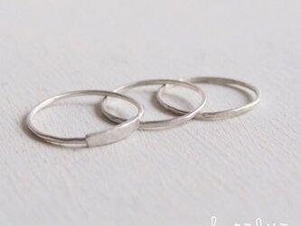 【再販】- Silver - The 3 Ringsの画像