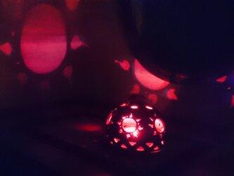【3WAY】アジアンランプ・太陽の画像