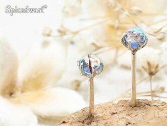 Fused glass simple pierce 'soraneko'の画像