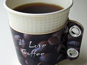 コーヒースリーブ♪I love coffeeの画像
