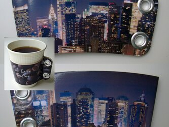 コーヒースリーブ♪ニューヨーク(夜)の画像