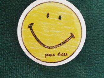 peace shore♡smile 缶バッチの画像