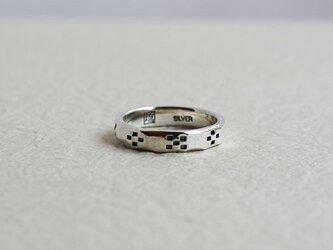 絆ミンサー柄指輪八柄女用 rr-26の画像
