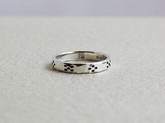絆ミンサー柄指輪八柄男用 rr-27の画像