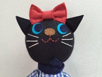 黒ネコちゃんの画像