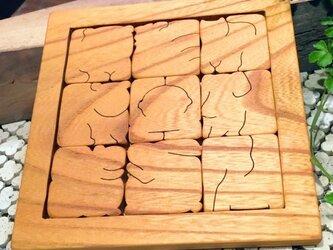 START:木のどうぶつパズルの画像