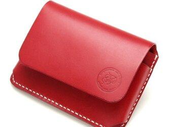 【受注生産】カードケース(名刺入れ) レッドの画像