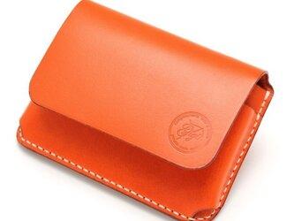 【受注生産】カードケース(名刺入れ) オレンジの画像