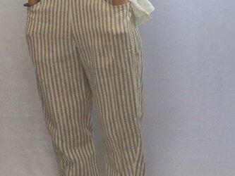 Stripe Pants/LITHUANIA LINENの画像