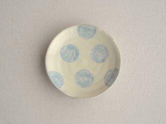小皿(水玉大)の画像