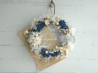 青のカーリーリース*の画像