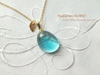 海の泡のネックレス(フュージング)の画像