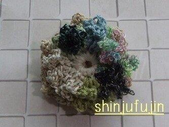 【Sold】お花畑のコサージュ50の画像