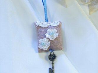 ミニサシェ☆ラベンダーとマジョラムの香りの画像