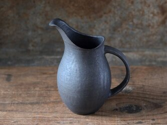黒釉ピッチャー(小)の画像