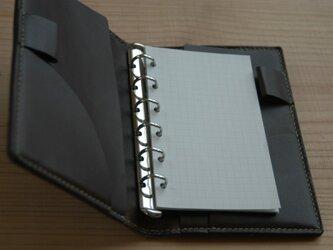 ミニ6穴システム手帳の画像