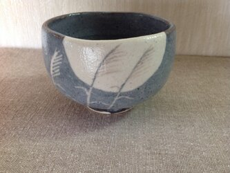 鼠志野焼茶碗の画像