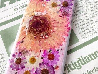iPhone6押し花ケースの画像