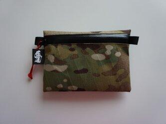 flat pouch M x-pac MultiCamの画像