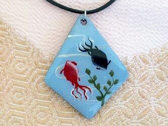 和柄ペンダント 金魚の画像