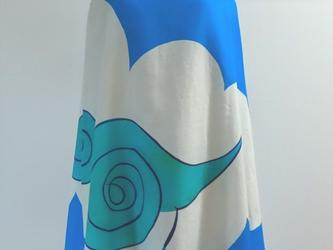 もくもく雲のドレスの画像