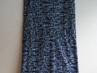 浴衣地 嵐模様 ノースリーブワンピース Mサイズの画像