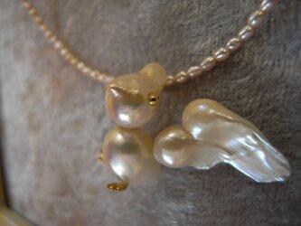 鳥さんネックレスの画像