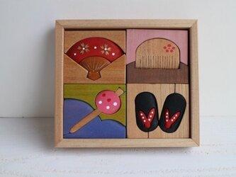 立体パズル(小) 舞妓の画像