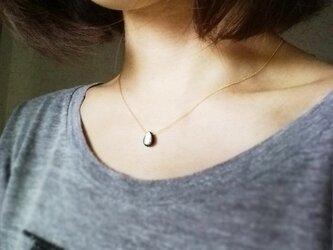 黒蝶貝(ブラックシェル)のネックレス[NS15-6]の画像