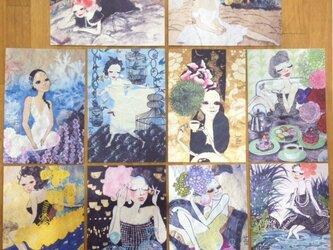 〇送料無料〇 アートポストカード10枚セットの画像