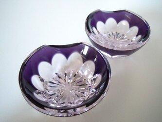 切子箸置き 梅(2個組)の画像