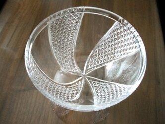 切子豆鉢 手毬の画像