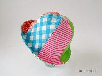 color soulこども帽子・HAPPYの画像