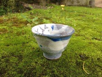 藁灰釉の汲み出し茶碗  Aの画像