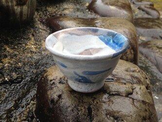 藁灰釉の汲み出し茶碗 Bの画像