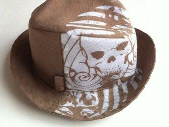 お気に入りのTシャツで作る中折れ帽のセミオーダーの画像