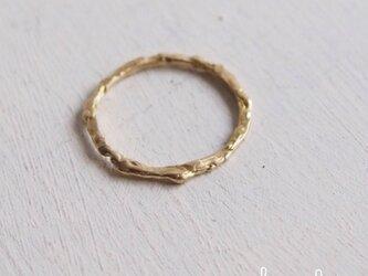 【再販】- Brass - Melting Ringの画像