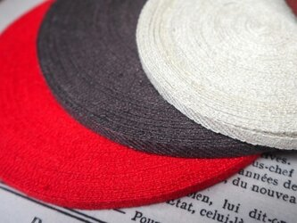linen tape 3m redの画像