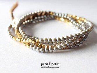 【H様ご予約】2way bracelet n51の画像