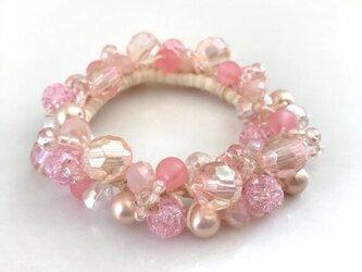 クロッシェシュシュ ピンクの画像