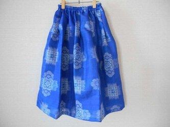 夏銘仙の涼やかスカートの画像