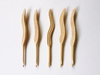 木製 かぎ針(10/0号)の画像