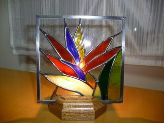 Hawaiianステンドグラスパネルの画像