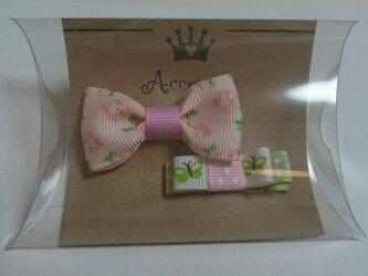 【M M様の注文品】小さいバラのヘアピンセットの画像