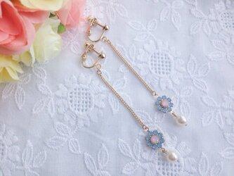 *la fleur*milky blue×pinkの画像