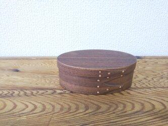 Shaker Oval Box #1 - ブラックウォルナットの画像