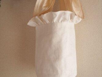 white lilac bucket basket(S)の画像